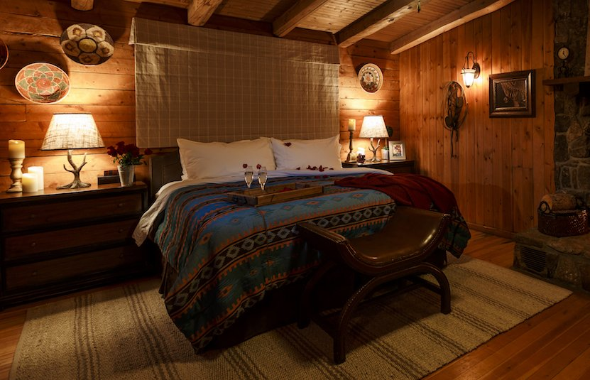 West Flying Horse King Guestroom at our family friendly guest ranch in Colorado